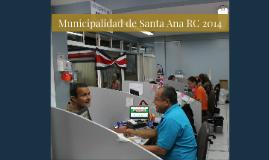 Municipalidad de Santa Ana RC2014