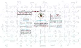 Historia del Pensamiento Economico VII y VIII