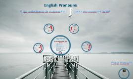 English Pronouns