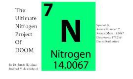 The Ultimate Nitrogen Project of DOOM