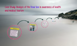 Case Study: Analysis of the Dead Sea in awareness of health