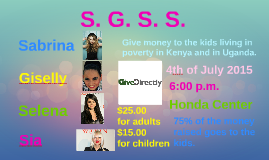 Copy of Charity Concert Flyer