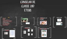 ETEQS Conselho de classe 2017