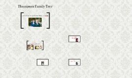 Thompson Family Tree