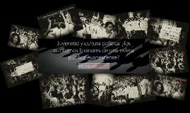 Juventud y cultura política. Contornos liminares (CUCEA)