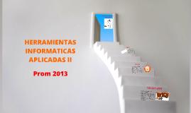 HERRAMIENTAS INFORMATICAS APLICADAS II