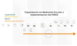 Capacitación en Mediación Escolar e Implementación del PMCE