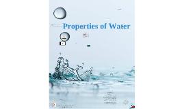Chemistry: Properties of water.