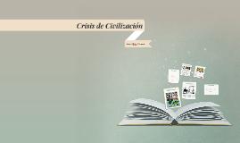 Civilización (de crisis)