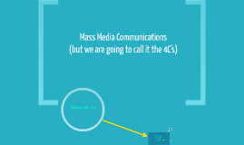 Mass Media Communications