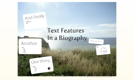 Biography text