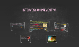 INTERVENCIÓN PREVENTIVA
