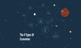 The 4 Types Of Economics