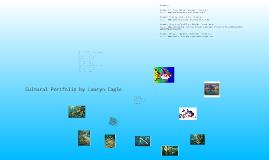 Marine Biology Cultural Portfolio