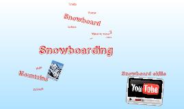 Copy of snowboarding
