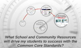 Copy of What Resources Will Drive My Students' Success with the Comm