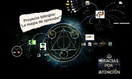 Proyecto bilingue: