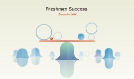 Freshmen Success