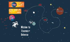 Missão ao Universo Erasmus+ JA