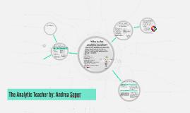 The Analytic Teacher by Andrea Soper