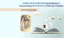 Análisis de la traducción interlingüística e intersemiótica