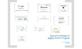 MAEL Orientation: Technology