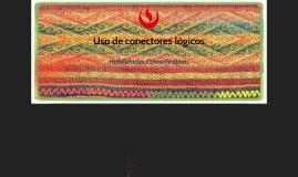 Copy of Uso de conectores lógicos