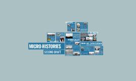 Micro-Histories, Second Draft