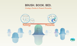 BRUSH. BOOK. BED.