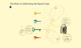 The Keys to Addressing the Equity Gaps