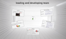 leading and developing team