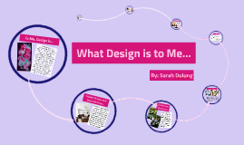 What Design Is To Me