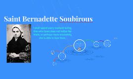 Saint Bernadette Soubirious