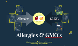 Copy of Allergies & GMO's