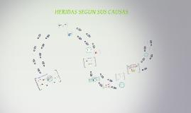 CLASIFICASION DE LAS HERIDAS