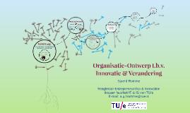 Organisatie-ontwerp voor innovatie & verandering