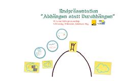 Endpräsentation VU Social Entrepreneurship