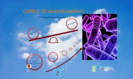 CONTROL DE MICROORGANISMOS - PRESIÓN OSMÓTICA