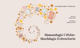 Copy of Hematología Células: Morfología Eritrocitaria.