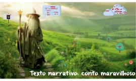 Texto narrativo: conto maravilhoso