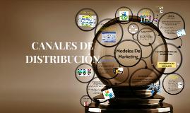 Copy of CANALES DE DISTRIBUCIÓN