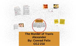 The Murder of Travis Alexander