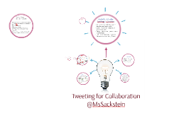 Tweeting for Collaboration