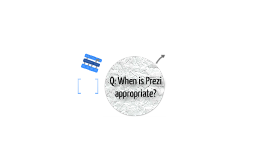 When is Prezi appropriate?