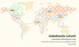 Globalización cultural