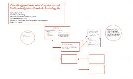 Entwicklung mathematischer Kompetenzen und Vorläuferfertigke