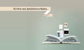 Copy of Werken met patiëntenverhalen..