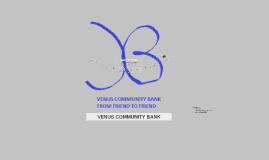 VENUS COMMUNITY BANK