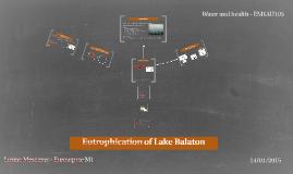 Eutrophication of Lake Balaton
