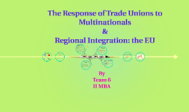 Copy of The Response of Trade Unions to Multinationals